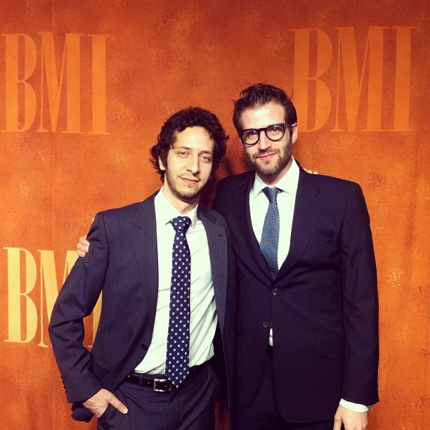 deru:  At the BMI music awards with Jeremy.  The Track Team, coming with the hotness.