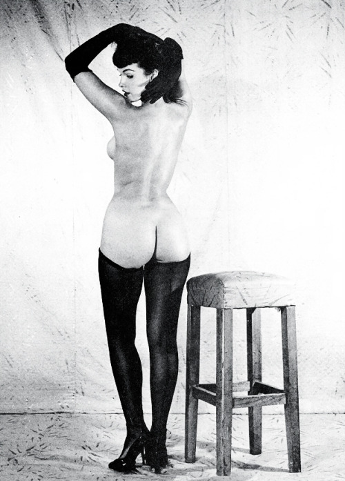 Bettie Page photographed by Bunny Yeager c. 1954