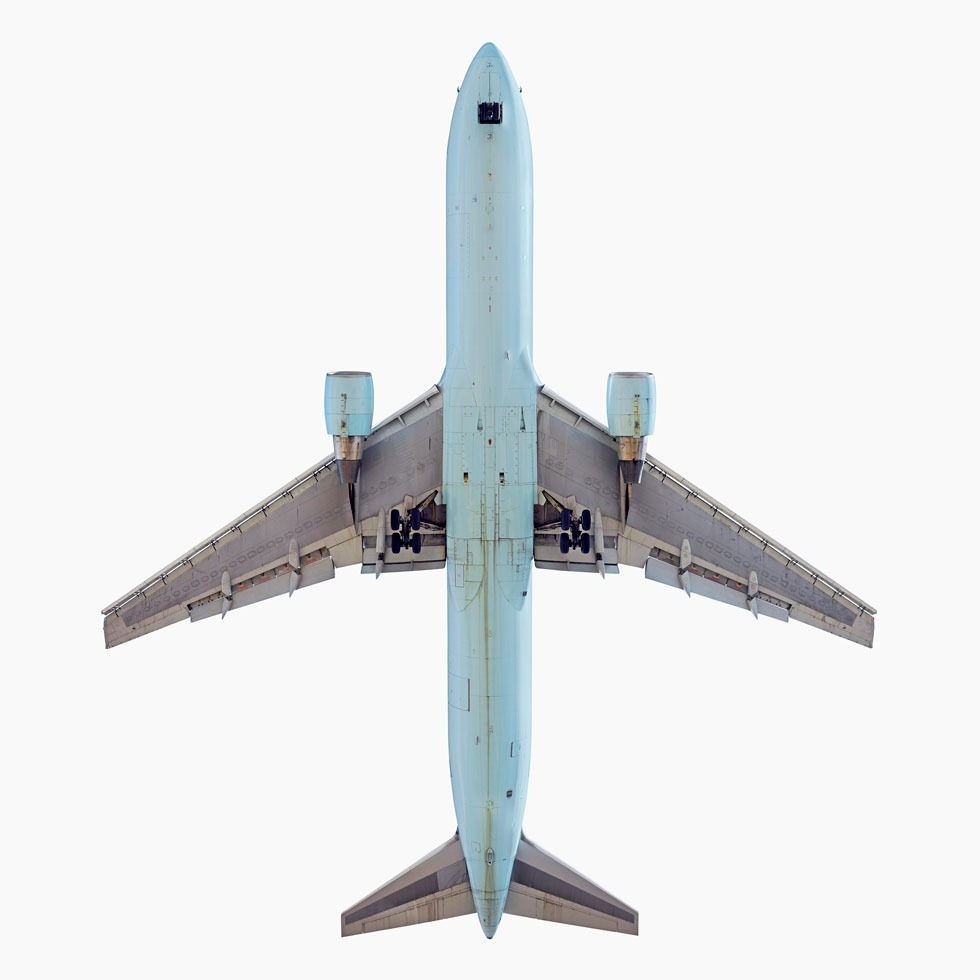 I'm a huge fan of Jeffrey Milstein's formal studies of airplanes as they pass overhead. Viva the Jet as Art. See more here, and check them out in person at the Smithsonian Air & Space museum in DC through November 25.