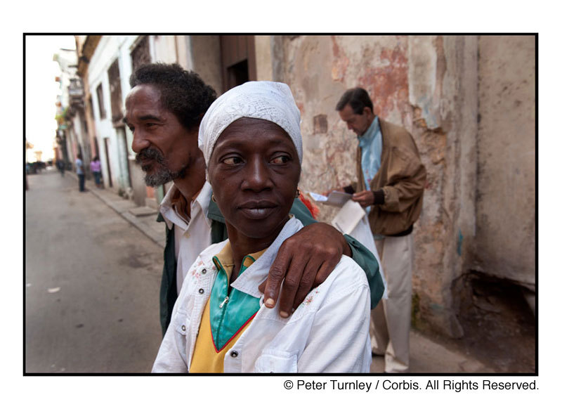 This photograph is part of a photo-essay entitled Cuba: A Grace of Spirit. All photographs in this collection can be seen at peterturnley.com.  © Peter Turnley / Corbis 2012. All Rights Reserved.www.peterturnley.com