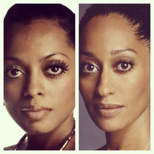 terrencecosby:  Diana Ernestine Earle Ross and Tracee Ellis Ross