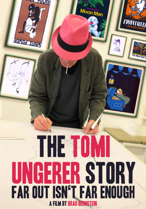 Can't wait for this documentary! The Tomi Ungerer Story - Far Out Isn't Far Enough. And what a hat!!