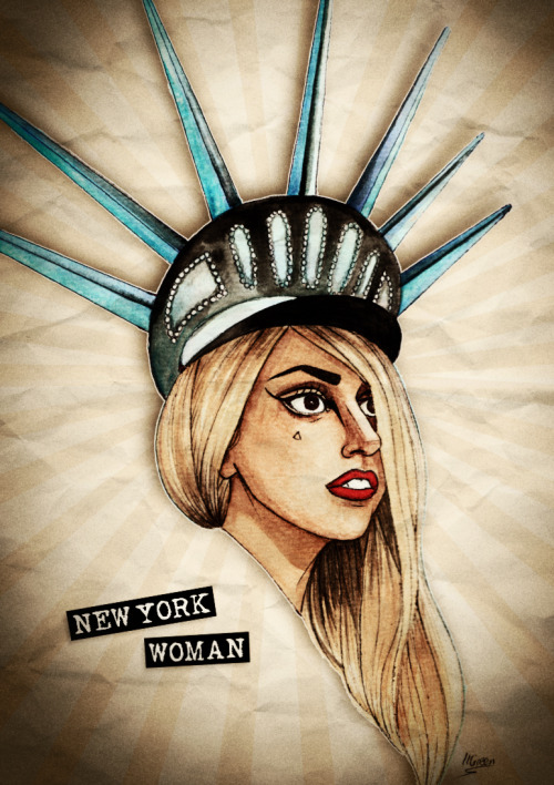 dollychops:  Gaga New York Woman