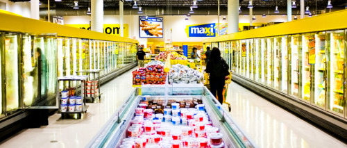 modern grocery.  shot with my new fuji x100!