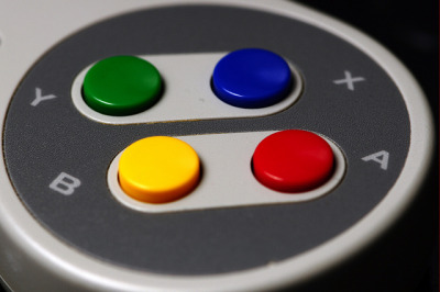 geekylifestyle:  SNES Controller by Tripple-B (Bart) on Flickr.