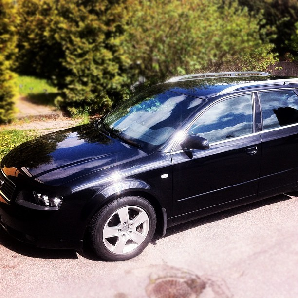 My baby! #audi #a4 #NewLove #beauty   (Taken with instagram)