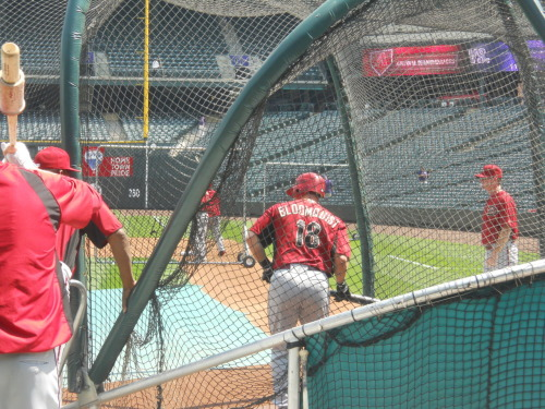 Bloomquist steps in for some BP