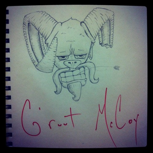 #warmupsketch G'ruut McCoy