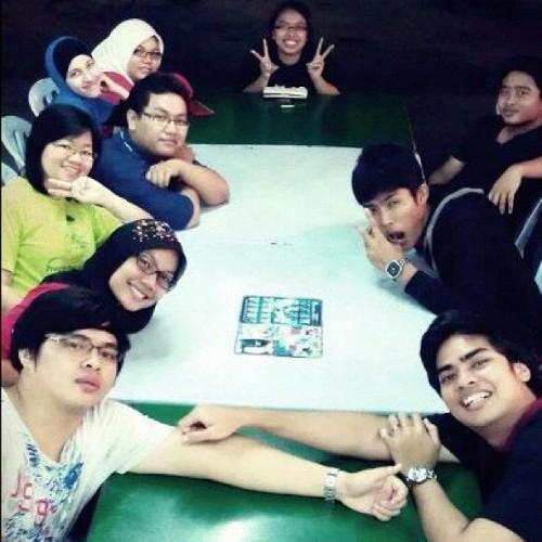 Supper time after study #friends #eat #chitchat #mamak  (Taken with instagram)