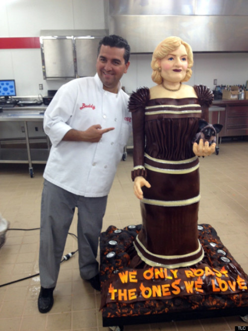 Stop everything and look at this life-size cake of Betty White. First a baby orangutan, now a cake. What else can we honor Betty with?