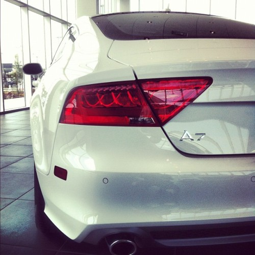 Clean. @Audi A7. #Audi #cars #winning (Taken with instagram)