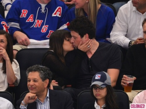 Lea Michele and Cory Monteith. Adorable!