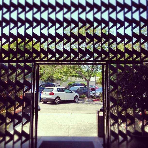 #door #zigzag #willowglen #sanjose (Taken with instagram)