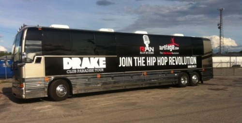 Who will be hopping on this bus for the next 20 dates of Drake's Club Paradise Tour? Find out here!