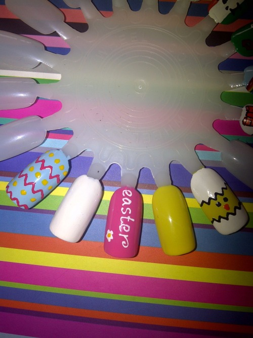 part of my easter nail wheel :)