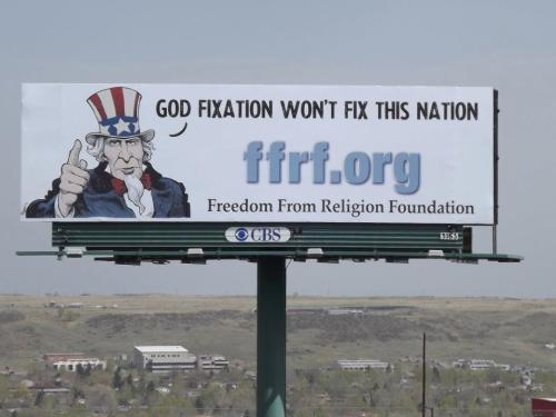 Denver FFRF billboard.