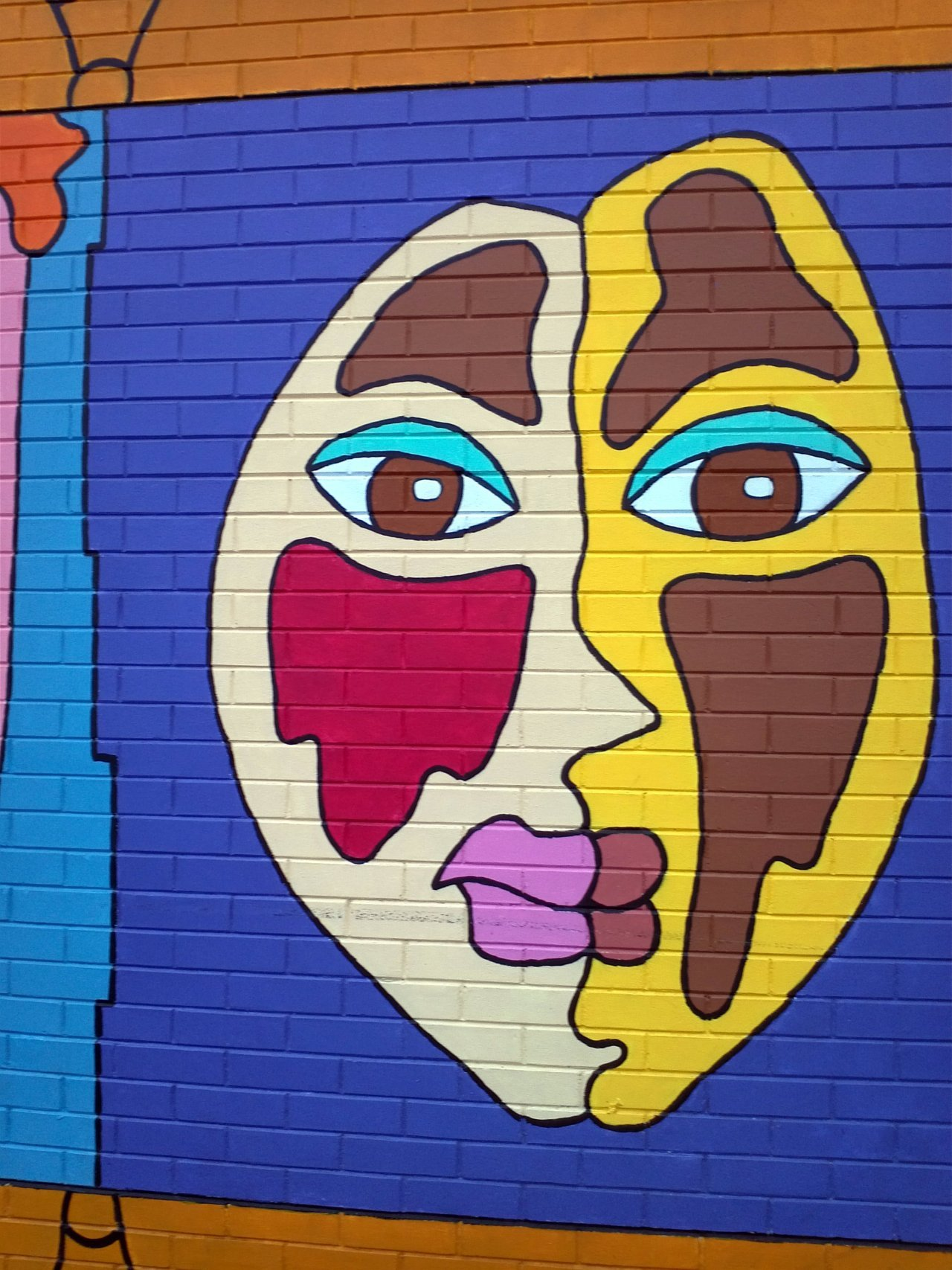 Pamela Rojas' KW Multicultural Centre mural, Kitchener, ON