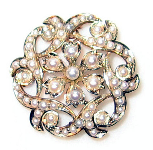 Beautiful antique brooch! Have something similar? Consider getting a jewellery valuation and find out how much it may be worth…