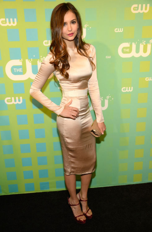 The CW Upfront 2012 Green Carpet - May 17, 2012