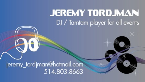 Business card I had to make at work in 30 minutes | Carte d'affaire que je devais faire en 30 minutes au travail