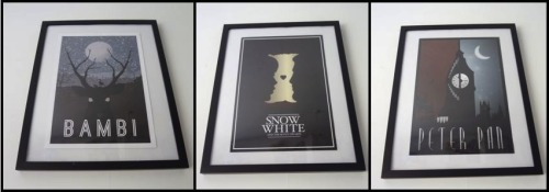 A happy customer sent me this photo of three of my designs framed! Lovely!