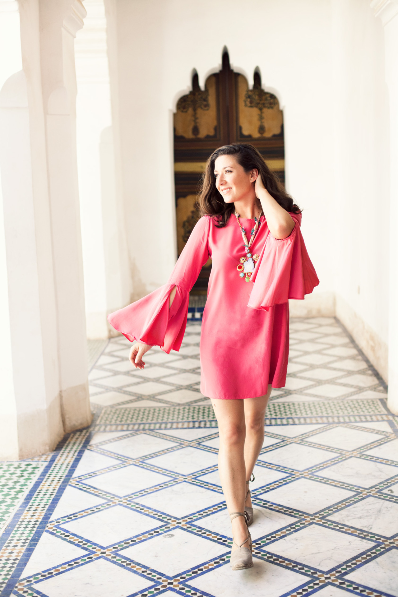 fromme-toyou:  Royal Palaces & pink dresses, falling in love with Marrakech…