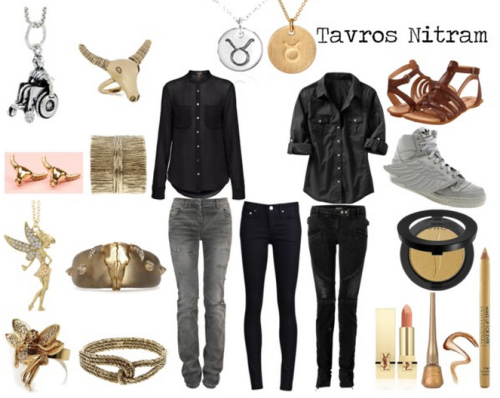A Fashionstuck set inspired by Tavros Nitram.