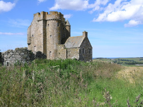 Inchdrewer Castle, Aberdeenshire