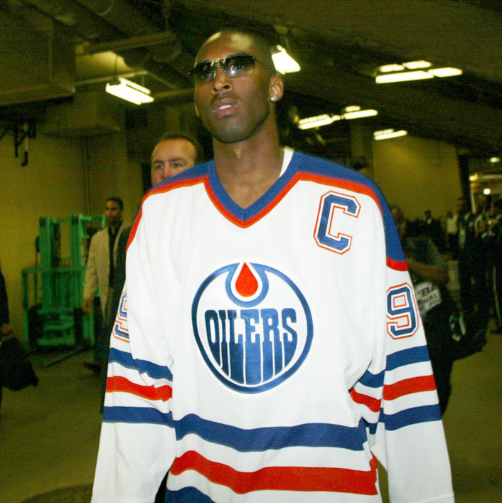 Kobe's from Los Angeles, but he reps Edmonton.