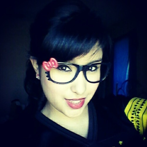 My Hello Kitty glasses came in ^___^ (Taken with instagram)