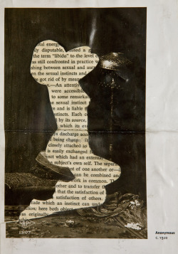 """Sexual Instincts"" - Mixed media collage, 2012."
