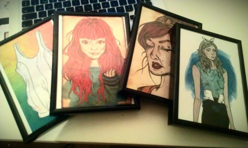 Small frames for the wall