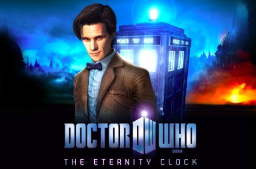 "Doctor Who: The Eternity Clock lands on PSN May 23 via Joystiq: Like the TARDIS, the PS3 is ""bigger on the inside,"" capable of holding an entirely new Doctor Who adventure within its slim casing. The BBC announced that Doctor Who: The Eternity Clock will be released ""globally"" on PlayStation Network Wednesday, May 23, and in UK retail the following Friday. ""We really appreciate your patience as we've been making sure the game is perfect for all you eager fans,"" said executive producer Simon Harris, referencing the two-month delay of the game, which made the title unfortunately ironic.The brief announcement on the PlayStation Blog did not offer any release dates for the announced PC or PlayStation Vita versions."