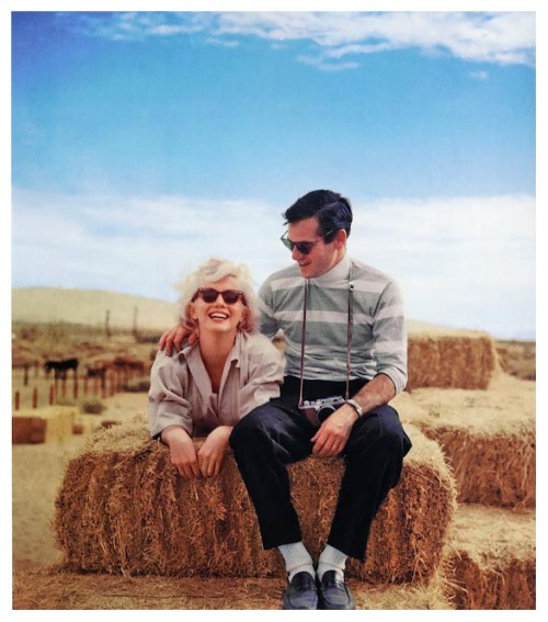 Milton Greene with his friend and muse, Marilyn Monroe. (Last Milton Greene post!)