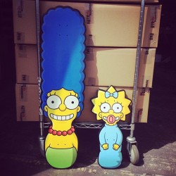 goskatewarehouse:  The Simpsons at Skate Warehouse