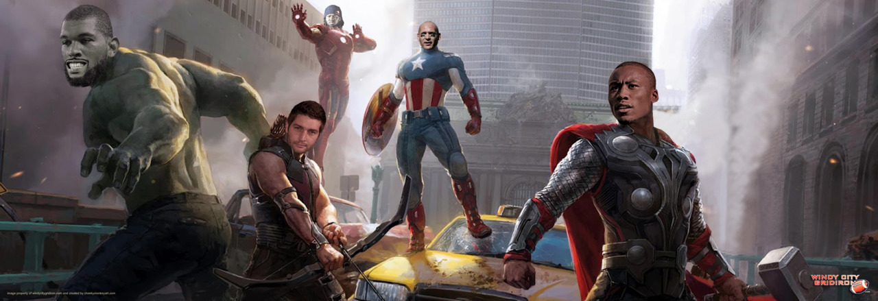 One 'Shop Stop: Avengers Assemble | created for windycitygridiron.com