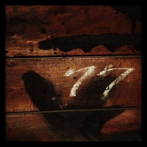 In the attic at #305knowlton #attic #roof #77 #chalk #ct #iphone #iphonography #bridgeport #industrial  (Taken with instagram)