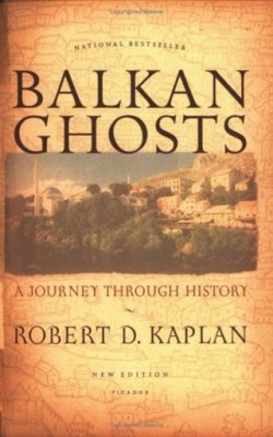 Balkan Ghosts, Robert D. Kaplan (F, 30s, T-shirt and jeans, headband, jewel nose stud, Dempsey's on 2nd Avenue) http://bit.ly/L3LdtW