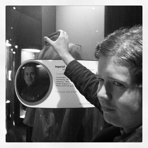 I find your lack of faith disturbing. #itbelongsinamuseum  (Taken with instagram)