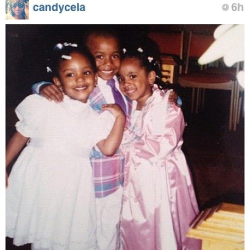 #regram #tbt I couldn't be more than 3 or 4. back when life was simple lol (Taken with instagram)