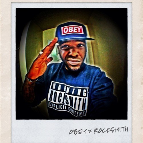 Going way to hard lol : #obey #rocksmith #anthonysupreme #popular #fashion #fisheye #iphone #iphone4g #groovy #trill #instagram #instagroove #lens #iphone4gs #black&white #photo #phonepics #etc #bullshit #black #redaudio (Taken with instagram)