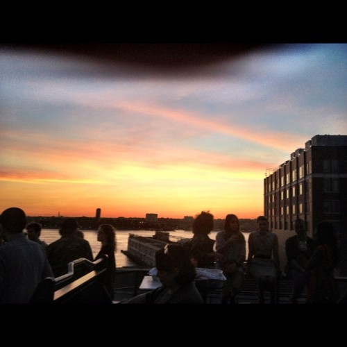 Sigh #sunset #milkstudios #nyc #cityscape  (Taken with instagram)
