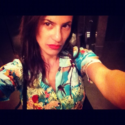 In a summer mood with my Hawaiian shirt #milkstudios  #summer #sunshine #summertime #summerlook (Taken with instagram)
