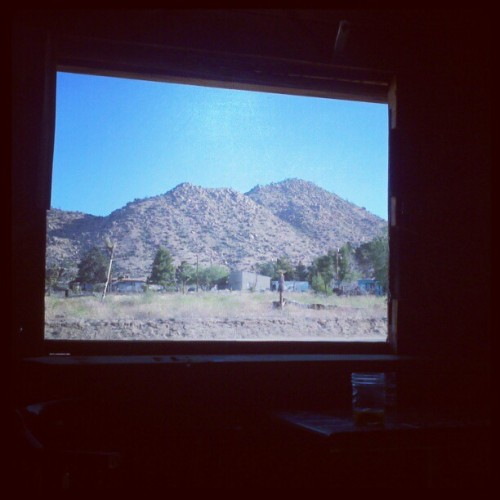 Beer in Pioneertown. (Taken with instagram)