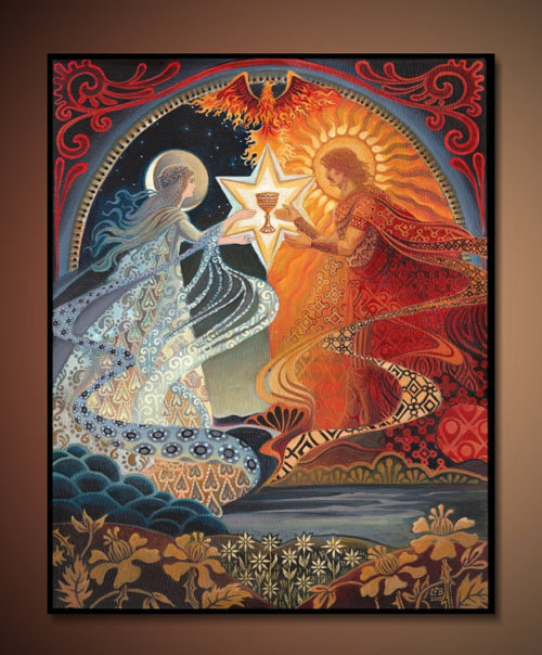 thewitchescauldron:  Alchemical Wedding by Emily Balivet
