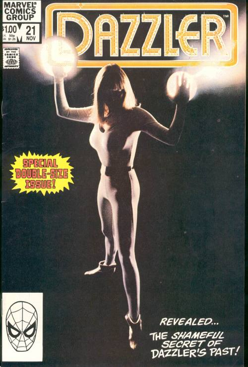 comicbookcovers:  Dazzler #21, November 1982,