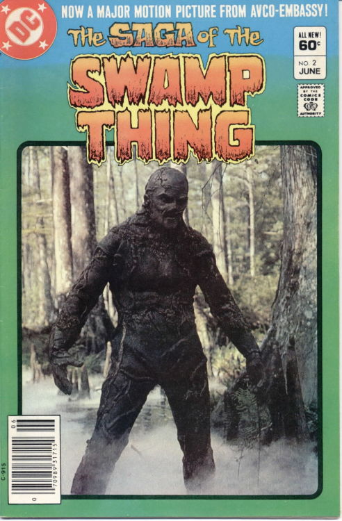 The Saga Of The Swamp Thing #2, June 1982,