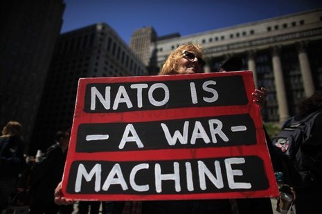 thepeoplesrecord:  NATO is a war machine. May 16, Chicago