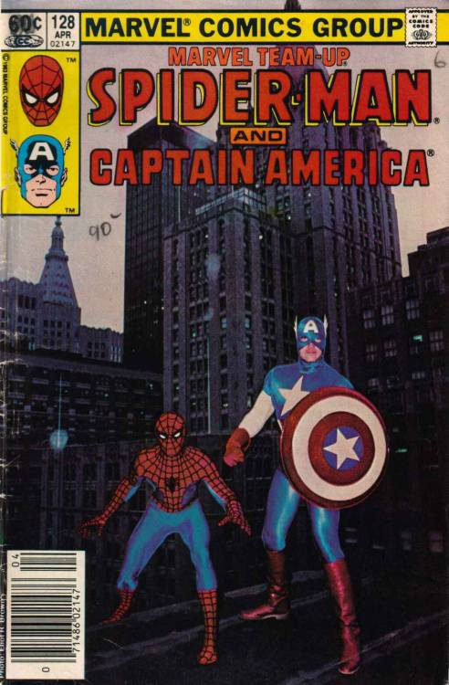 Marvel Team-Up #128, April 1983
