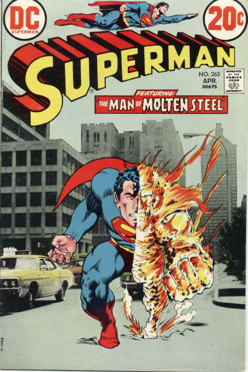 Superman #263, April 1973, cover by Neal Adams and Murphy Anderson